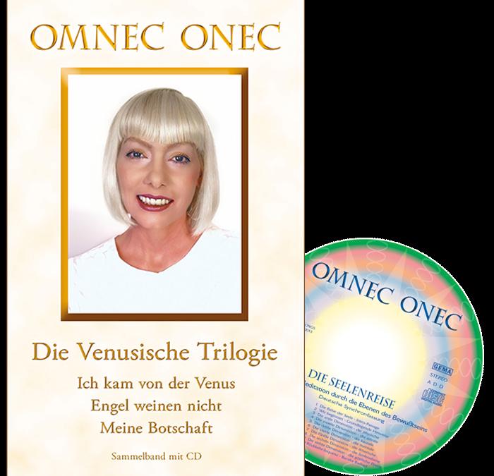 Die Venusische Trilogie – Hardcover-Buch mit CD
